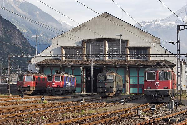 11165, 420169, 11688 and 11305, Erstfeld 17/9/2008