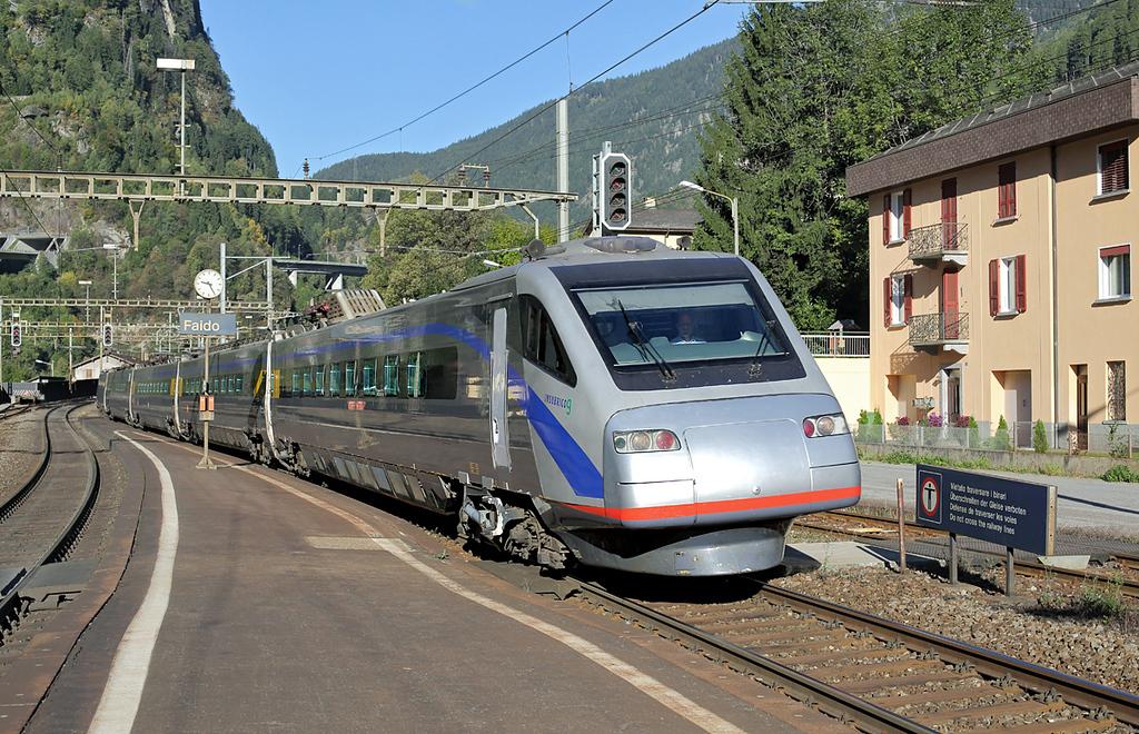 470009 Faido 2/10/2014<br /> EC313 0732 Zürich HB-Milano Centrale