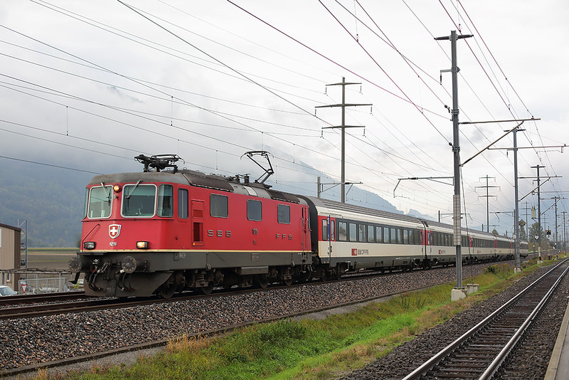 11219 Zizers 1/10/2014<br /> IC10777 1607 Zürich HB-Chur