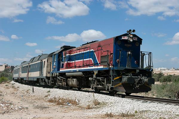 GT-563 Sousse 6/8/2010 5-22/61 0840 Tunis Ville-Monastir