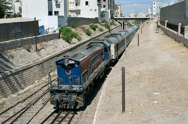 GT-569 Sousse 5/8/2010 5-22/61 0840 Tunis Ville-Monastir