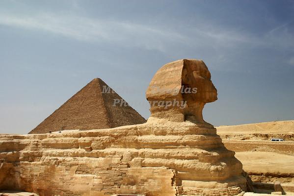 The Sphinx. Cairo, Egypt