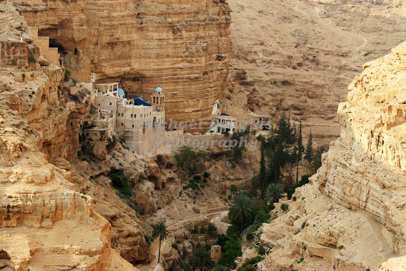 Monastery of St. George in Wadi Qelt, Israel