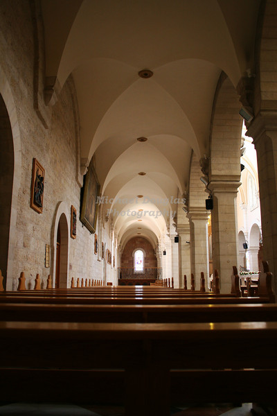 Church of St. Catherine in Bethlehem, Israel