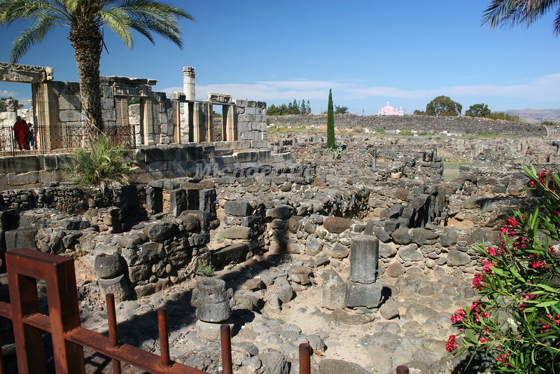 The town of Capernaum, Israel.