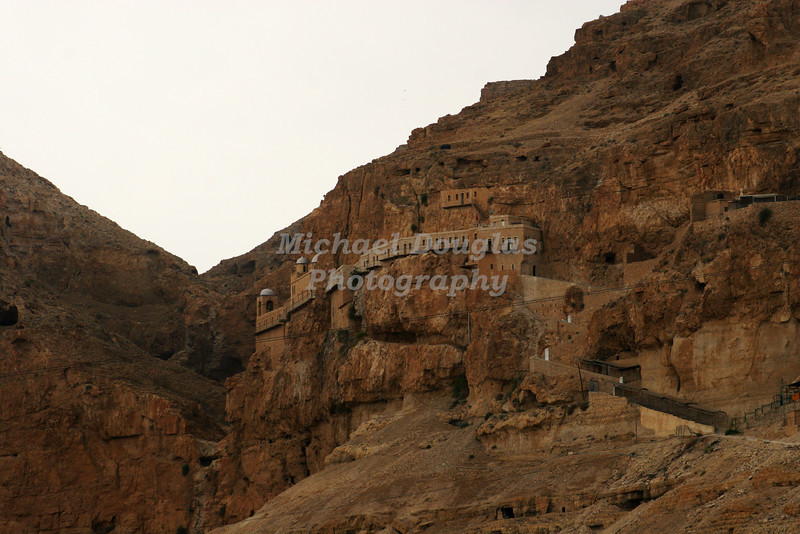 The Monastery at Mount of Temptation in Jericho, Israel