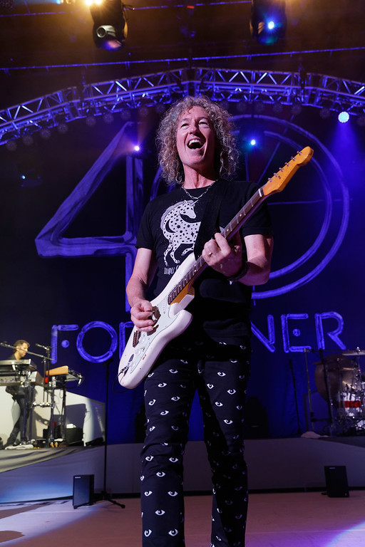 . Foreigner live at DTE Music Theatre on 8-11-17.  Photo credit: Ken Settle