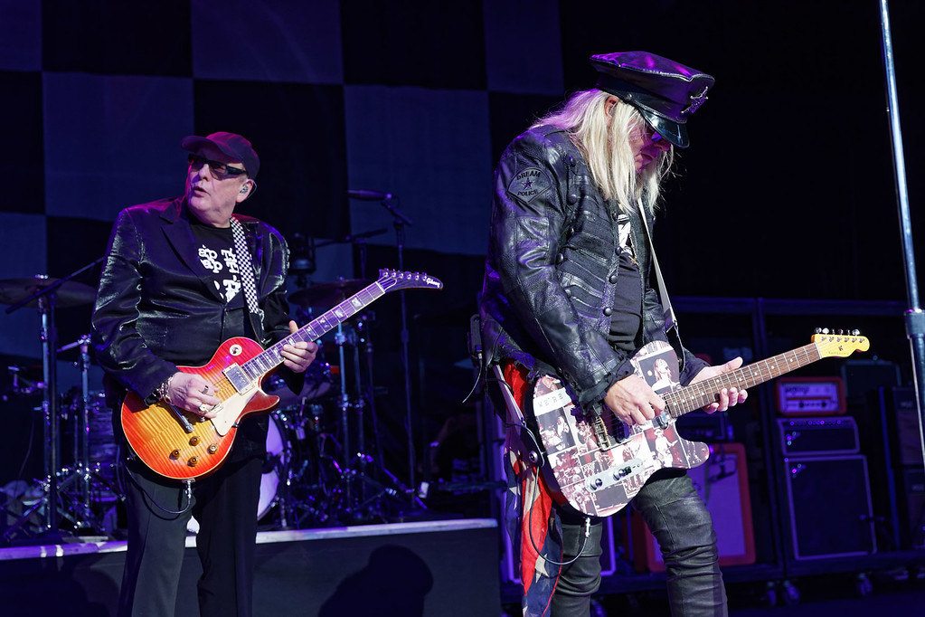 . Cheap Trick live at DTE on 8-11-2017. Photo credit: Ken Settle