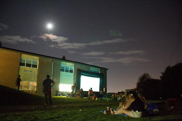 Forest Avenue Elementary School Movie Night
