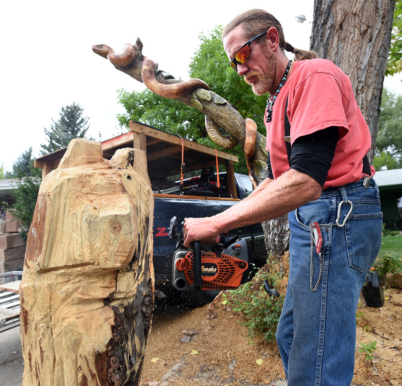 Forest Cunningham Wood Carver