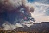 The fire attacks Brown Mountain. <br /> <br /> At this point, it is utterly unstoppable. The only thing that can be done is to get out of its way, and prepare to defend the foothill neighborhoods. Its on its way from a several thousand acre fire to well over 100 thousand acres.