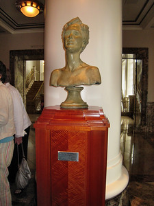 Schermerhorn Symphony Center - Nashville, TN - Bust of one of the major contributing founders Martha Ingraham