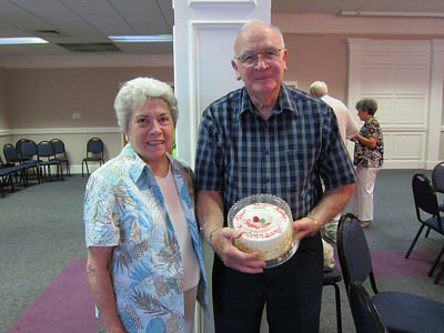 FHBC Climbers Lunch June 2010 - Anniversay Couple David and Martha Booker
