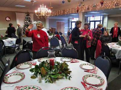 Climbers Christmas Lunch December 13, 2011