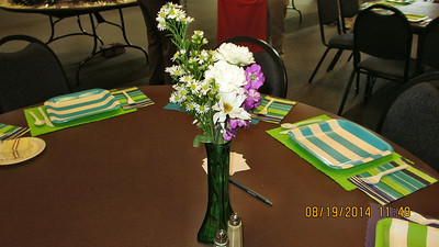 Forest Hills Baptist Church Climbers Lunch August 19, 2014