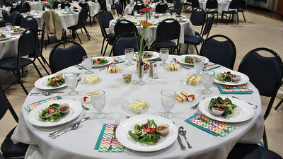 Forest Hills Baptist Climbers Dinner April 10, 2014