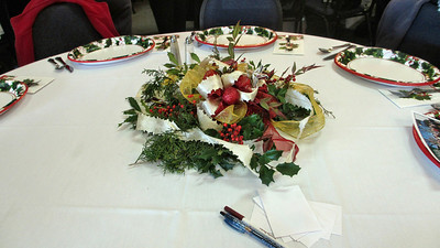 Forest Hills Baptist Church Climbers Christmas Lunch December 18, 2012