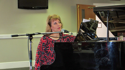 Forest Hills Baptist Church Climbers Christmas Lunch December 18, 2012 featuring Amy Tate Williams at the Piano