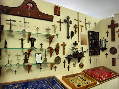 Cross Collection at the Cumberland Museum in Williamgsburg, KY