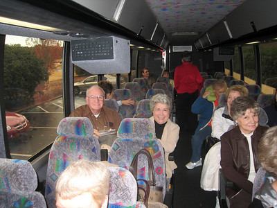 All Aboard our Motorcoach