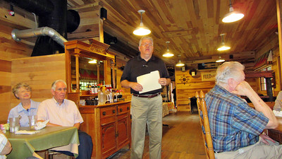 FHBC Climbers Trip to Readyville Mill Restaurant