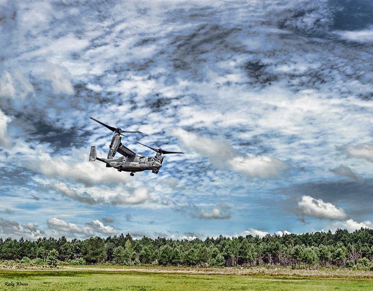 FMNF Osprey Landing