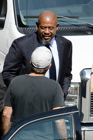 Forest Whitaker seen downtown Los Angeles
