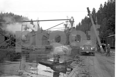 Log pond 1971 a