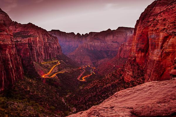 Zion Canyon Drive