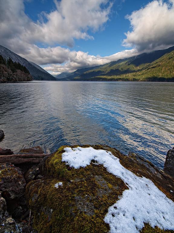 Crescent Lake - Olympic National Park - Washington