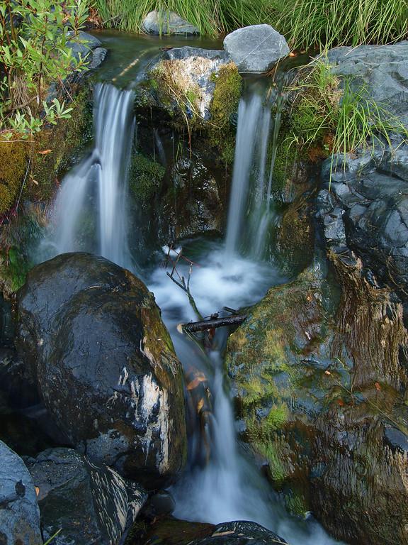 Close up of Anderson Creek at Socrates Falls