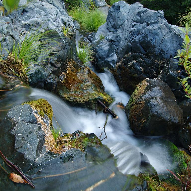 Before I Slip - Anderson Creek at Socrates Falls