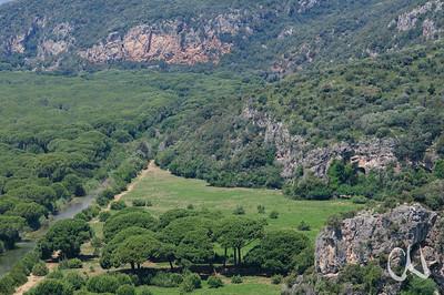 Entwässerungskanal im Naturpark Maremma, Parco Naturale della Maremma, bei Alberese, Provinz Grosseto, Toskana, Italien, Europa, Tuscany, Italy