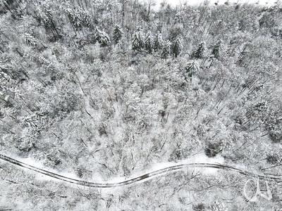 Winterwald, Luftbild