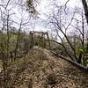 Old bridge in rural Macon County