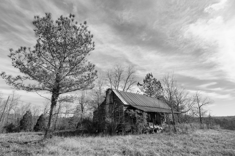 Old homestead. Randolph County