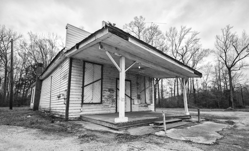 The old Sprott General Store in Sprott. (made famous by Walker Evans) Perry County