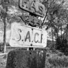 Federal Aid-Secondary road sign to aid farmers getting crops to market. Bullock County