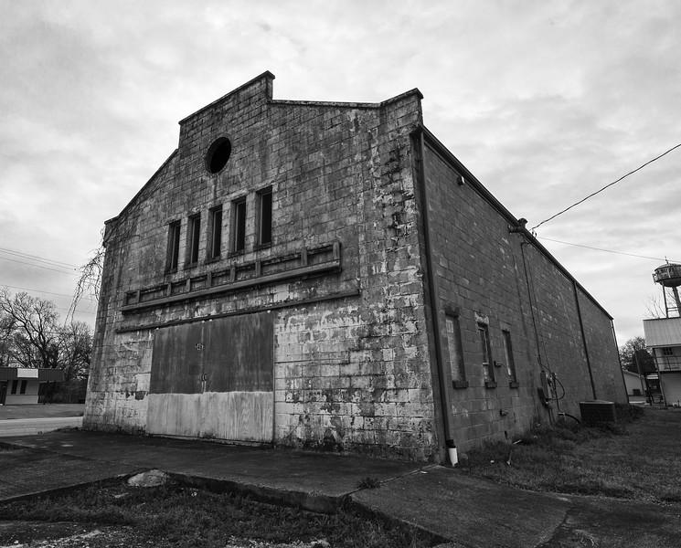 The former Star Theatre, Cedar Bluff. Cherokee County