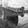 Sunken boat off Dauphin Island Pkwy. Mobile County