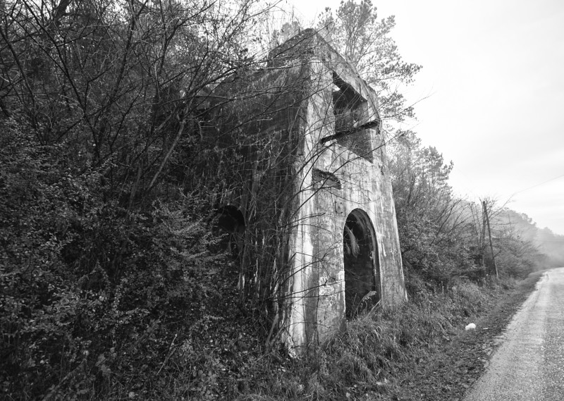 A remnant of the raimund Ore Mine near Bessemer. Jefferson County