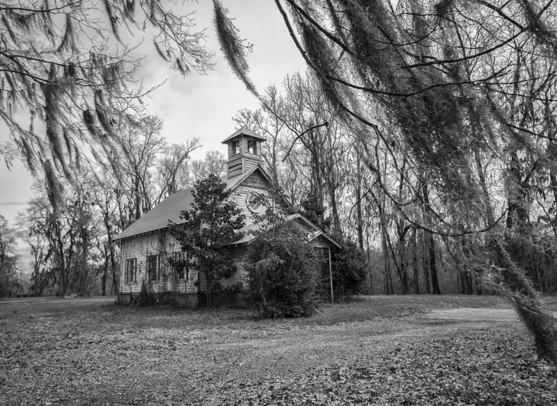 The church in the fictional town of Spectre from the movie Big Fish. Elmore County