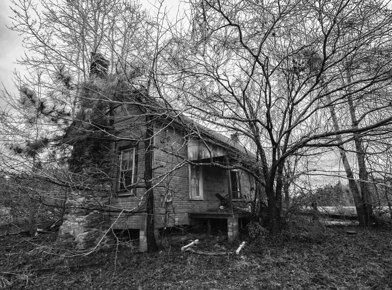 Old farmhouse. Tallapoosa County