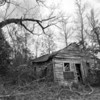 Old store in Midway (Monroe County) Alabama