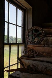 Wheels by the window
