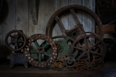 Collection of wheels.