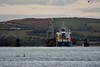"General Cargo Ship ""Kaili"" passes through the Barrow Bridge. Sun 27.10.19"