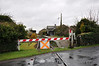 Askeaton Station Level Crossing looking towards Foynes. Sun 31.03.13