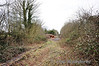 Looking towards the junction with the North Kerry Line at Ballingrane. The Tralee line branched off to the left. Sun 31.03.13