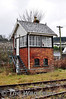 Foynes Signal Cabin. The cabin containes no lever frame, just a ETS instrument. I assume all points were hand operated? Sun 31.03.13